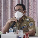 Walikota Metro Memimpin Rapat evaluasi kinerja Tim Gugus Tugas Covid-19