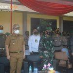 Wakil Bupati Lampung Tengah Ardito Wijaya menghadiri Apel Gelar Pasukan Operasi Patuh Krakatau 2021