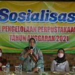 Pemerintah Lampung Tengah Gelar Sosialisasi tentang Tata Cara Pengelolaan Perpustakaan Kampung